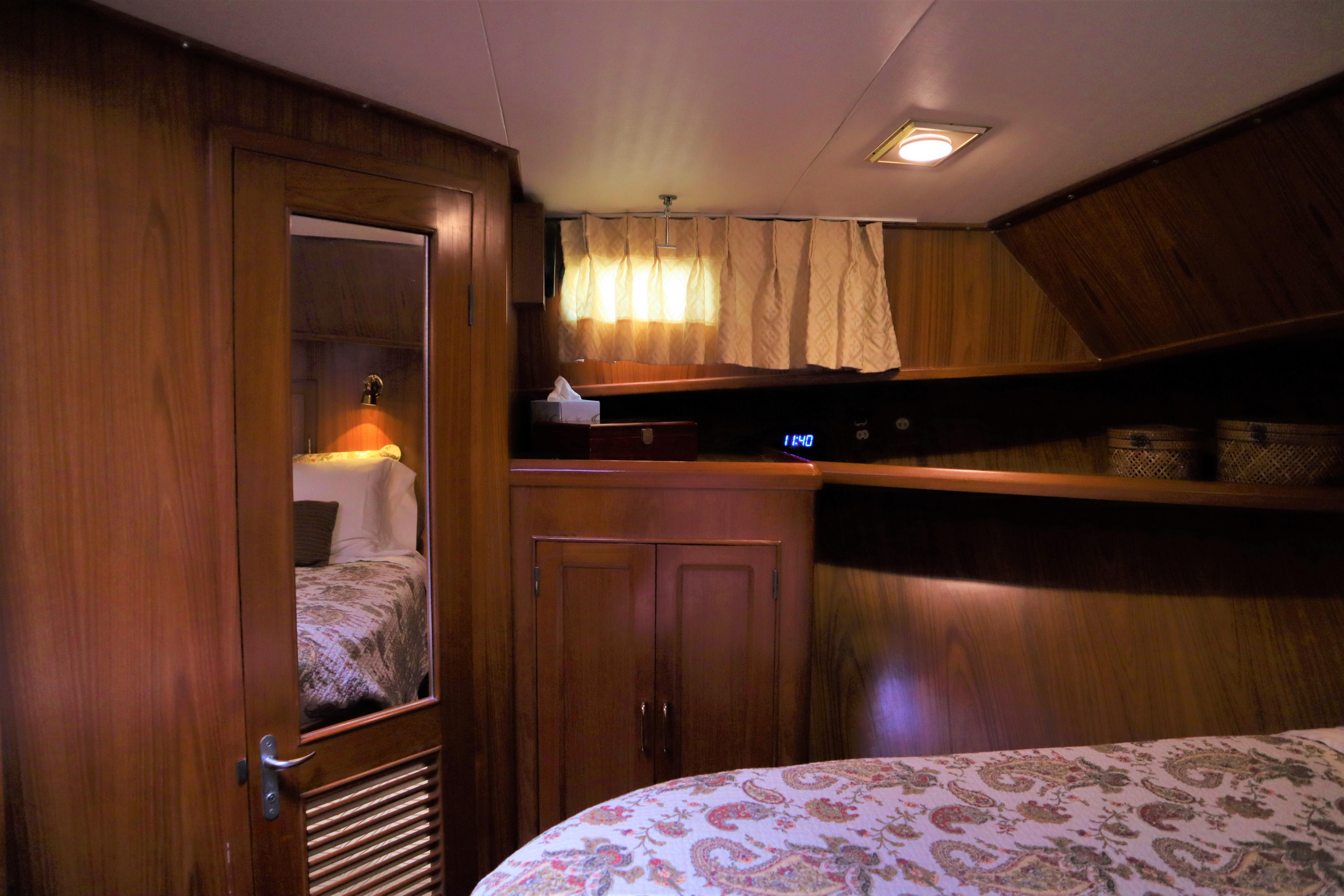 Owner Stateroom Port View
