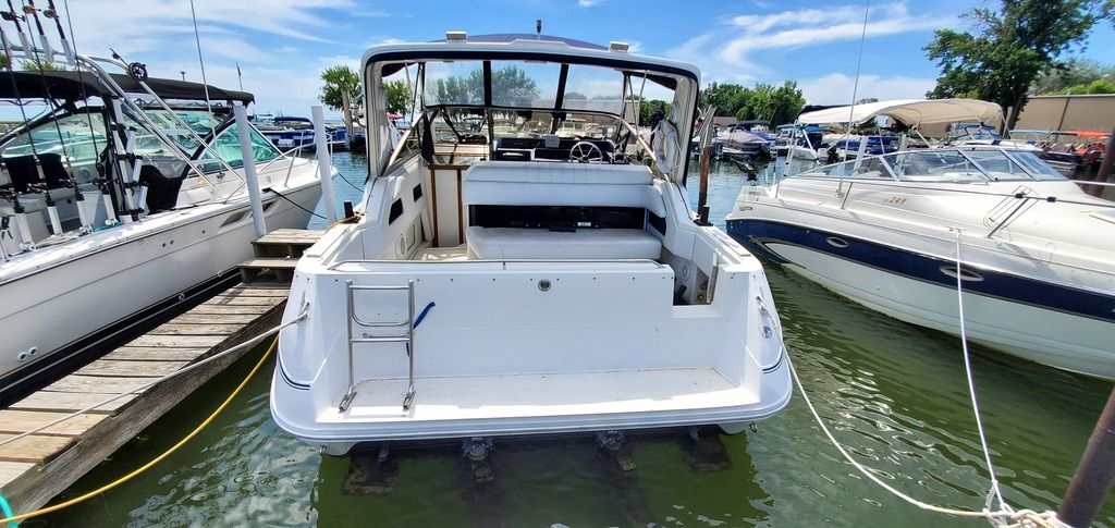 1989 Sea Ray boat for sale, model of the boat is 280 WITH TRI-AXLE ALUMINUM TRAILER & Image # 8 of 15