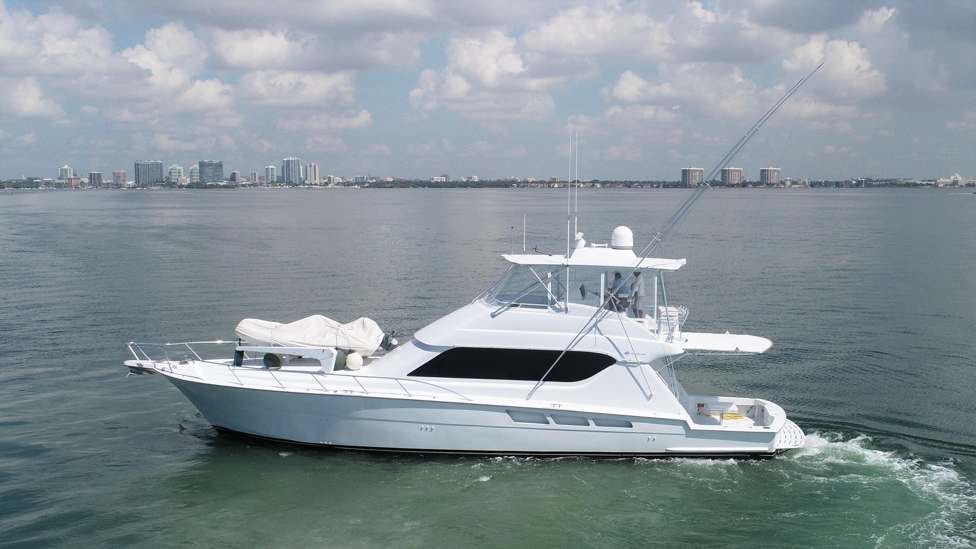 2005 Hatteras 65 Convertible