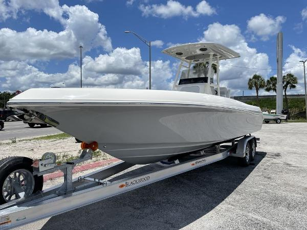 2022 ShearWater boat for sale, model of the boat is 27 BLACKWOOD & Image # 2 of 30