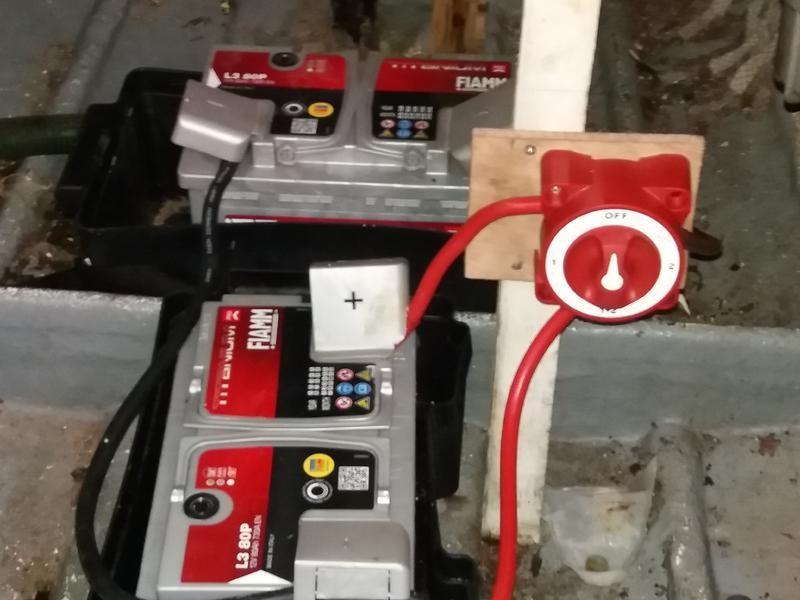 12V. Batteries