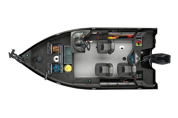 2020 Tracker Boats boat for sale, model of the boat is Pro Guide V-16 SC & Image # 13 of 47