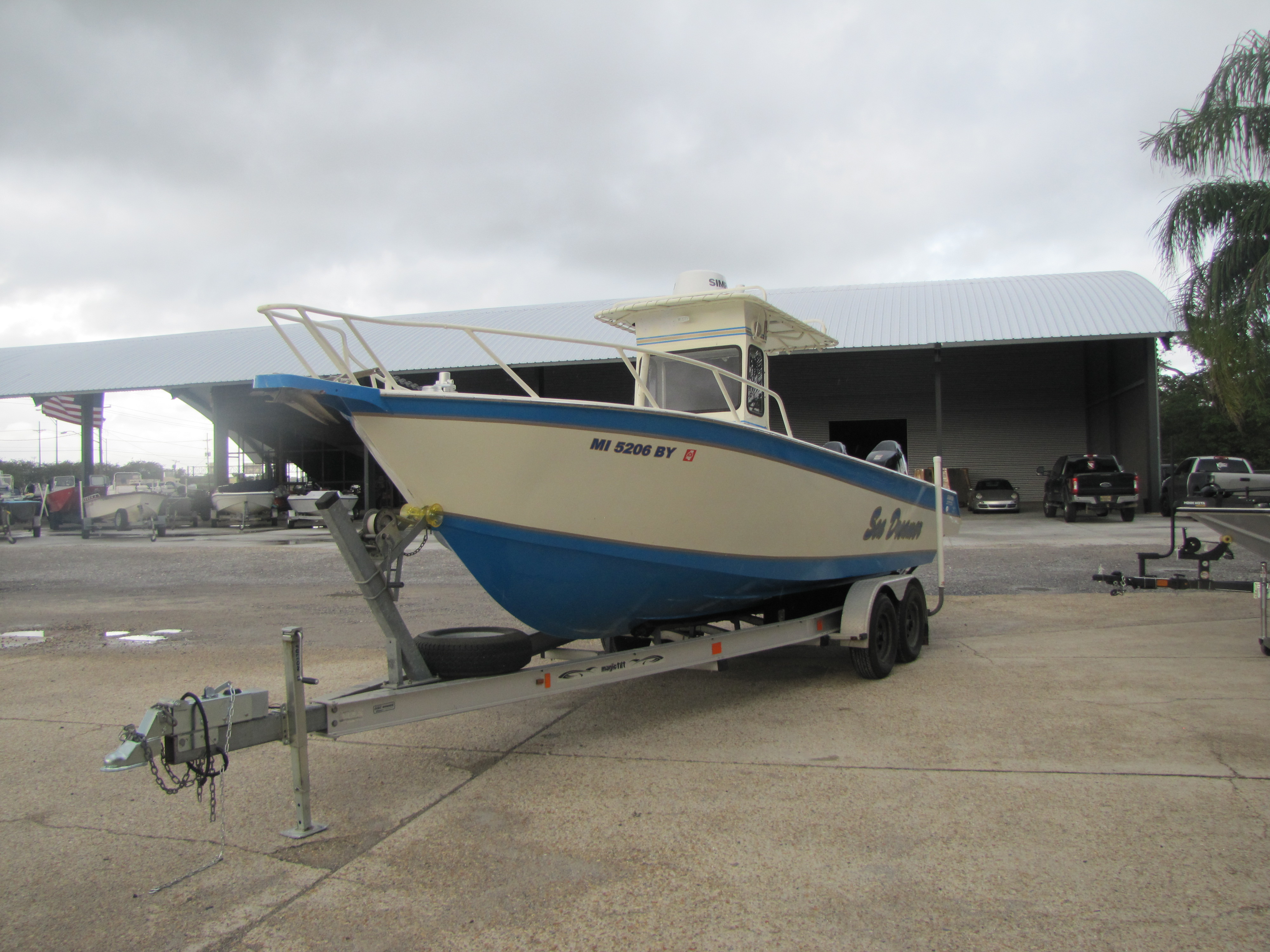 1985 Gravois boat for sale, model of the boat is 250CC & Image # 4 of 6
