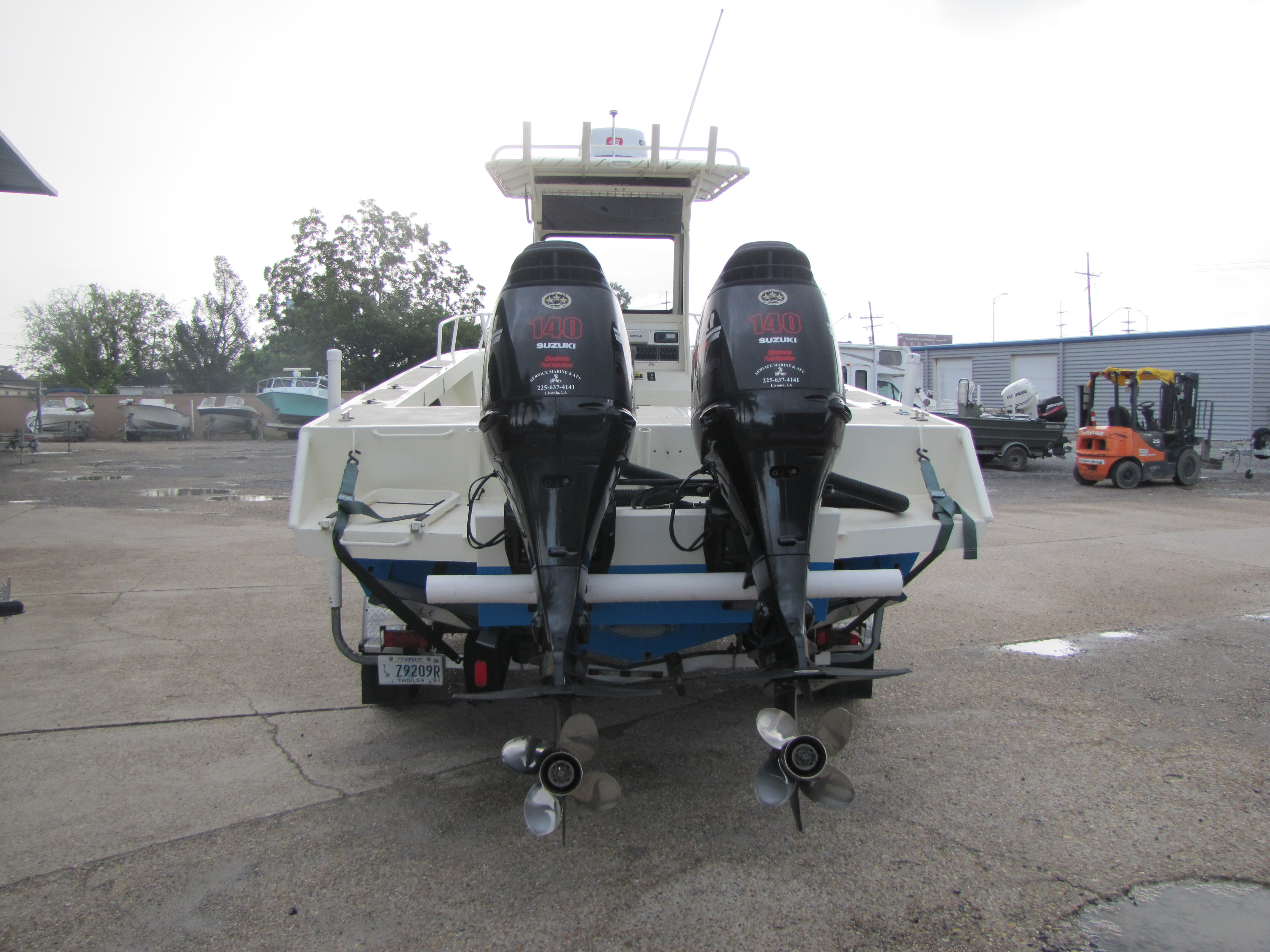 1985 Gravois boat for sale, model of the boat is 250CC & Image # 6 of 6