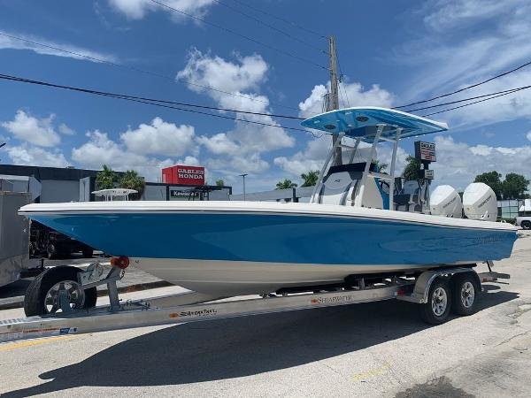 2021 ShearWater boat for sale, model of the boat is 270 CAROLINA BAY OPEN BOW & Image # 1 of 5