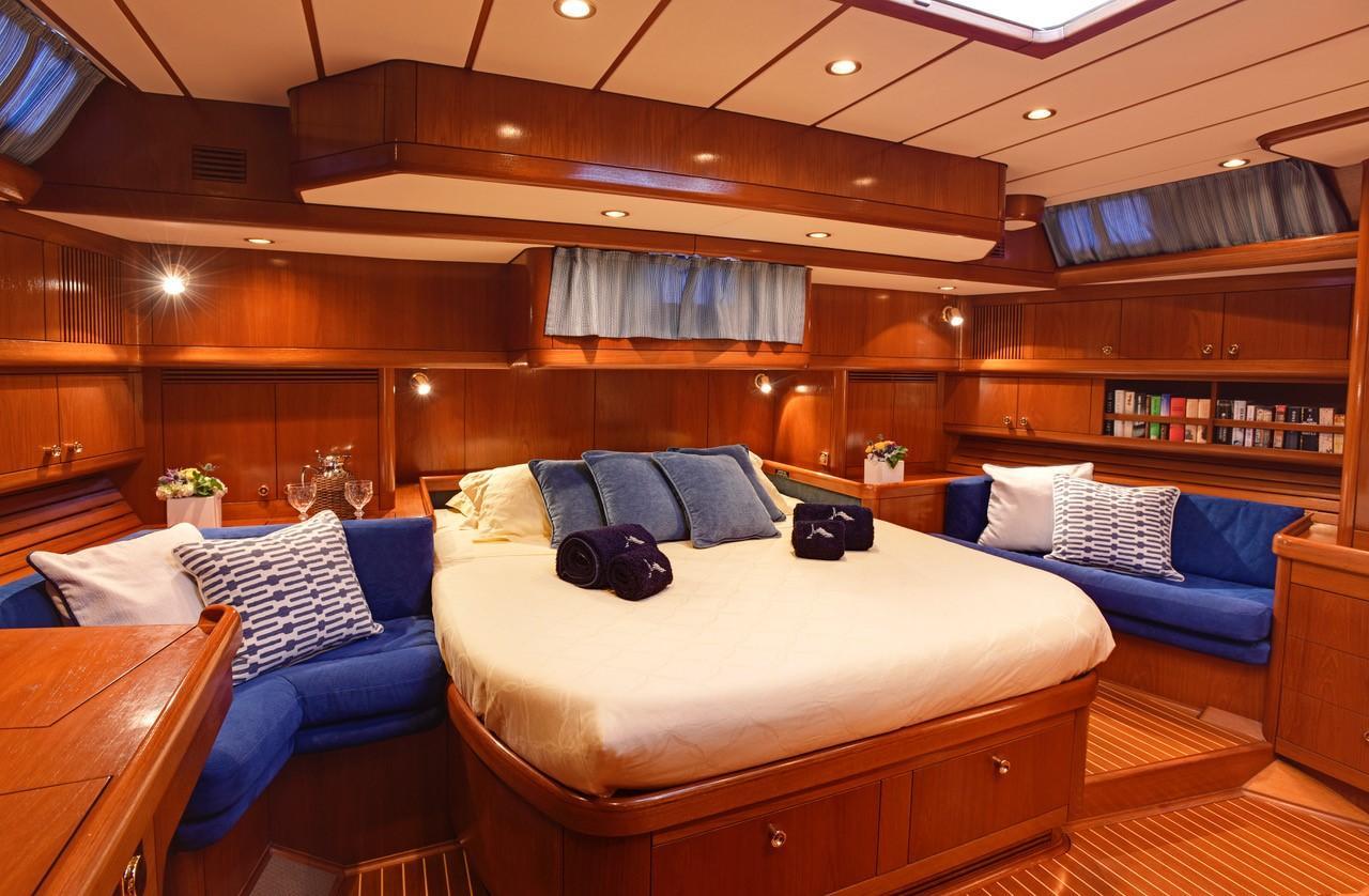 Master cabin aft form starboard