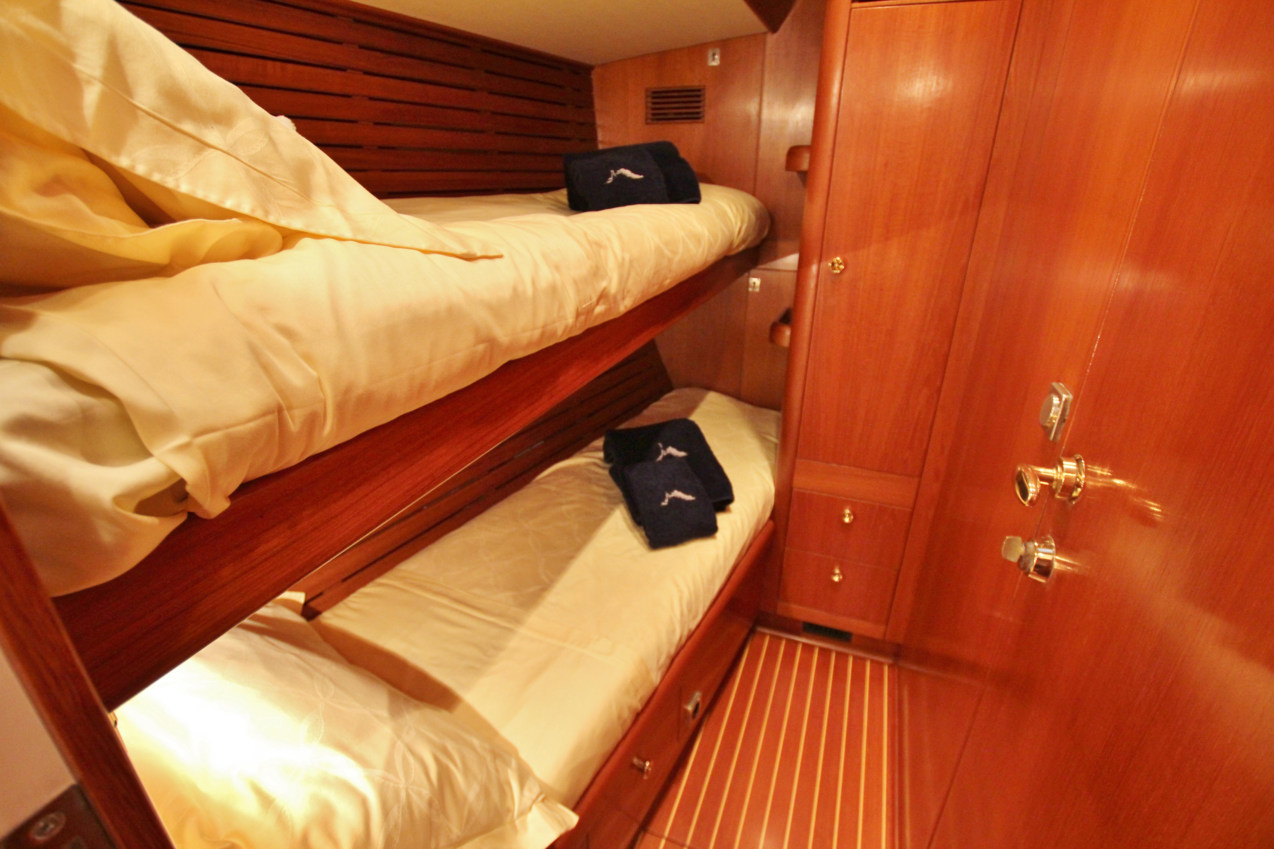 Captain's cabin aft starboard