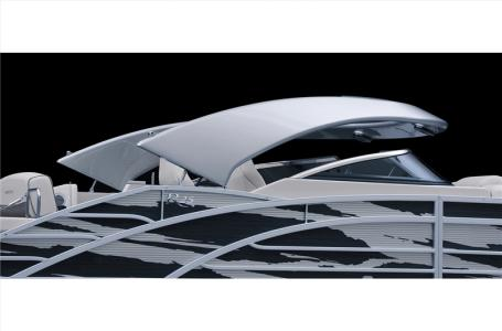 2021 Bennington boat for sale, model of the boat is 23 RSBWA WSHLD DLX Fold Open SP Arch Tri-Toon ESP Package & Image # 24 of 25