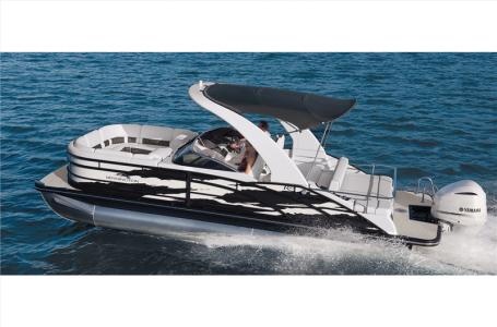 2021 Bennington boat for sale, model of the boat is 23 RSBWA WSHLD DLX Fold Open SP Arch Tri-Toon ESP Package & Image # 2 of 25