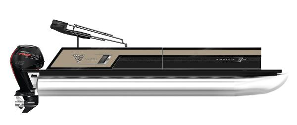 2021 Viaggio D26Q Tritoon with 300Hp Suzuki