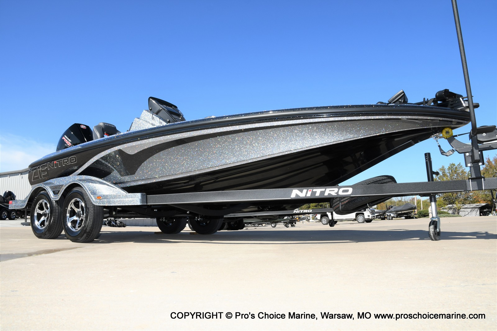 2021 Nitro boat for sale, model of the boat is Z19 pro package & Image # 2 of 50