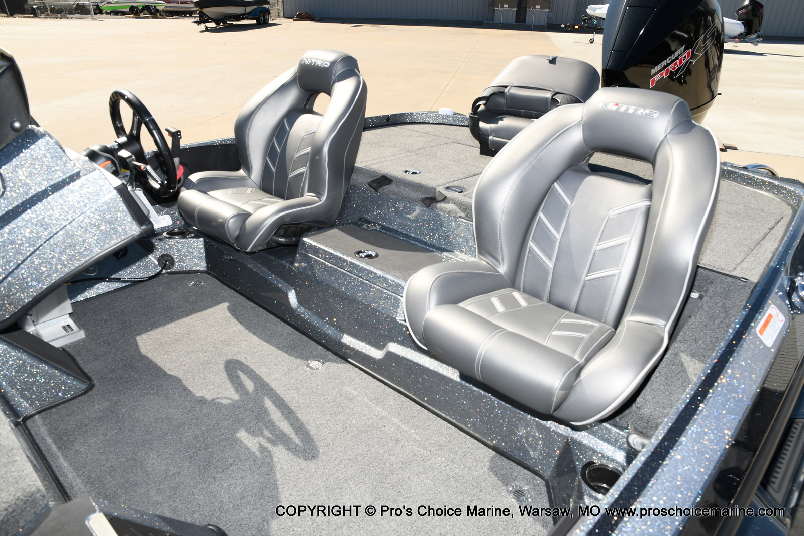 2021 Nitro boat for sale, model of the boat is Z19 pro package & Image # 12 of 50