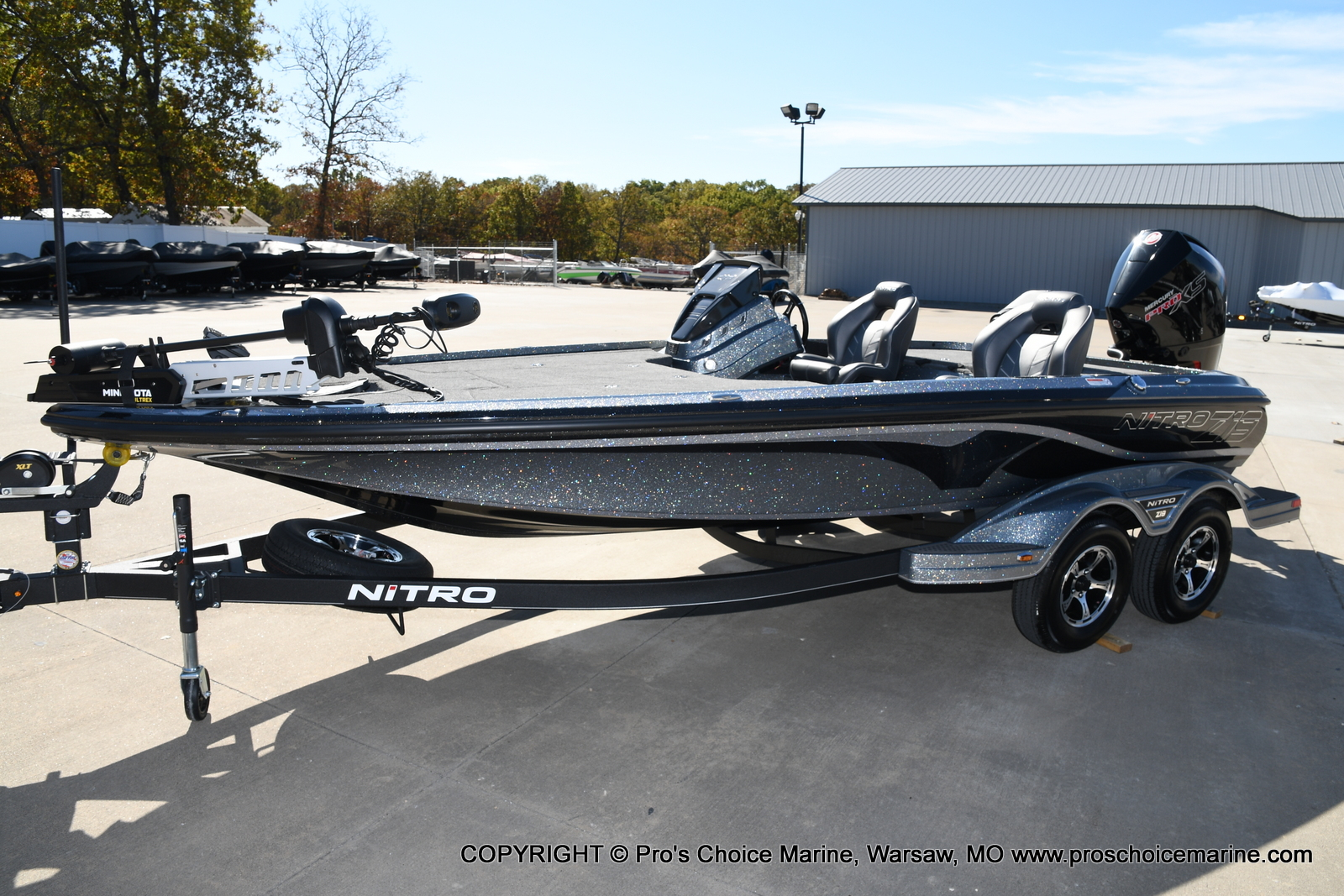 2021 Nitro boat for sale, model of the boat is Z19 pro package & Image # 33 of 50