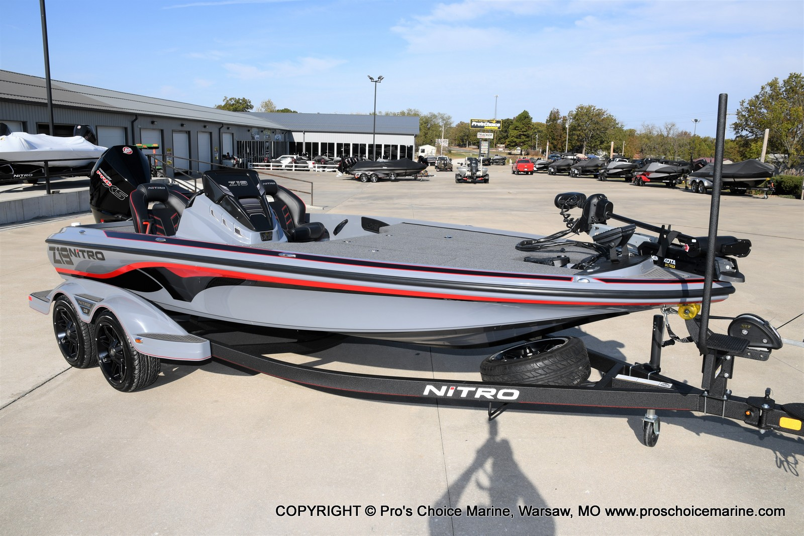 2021 Nitro boat for sale, model of the boat is Z19 pro package & Image # 29 of 50