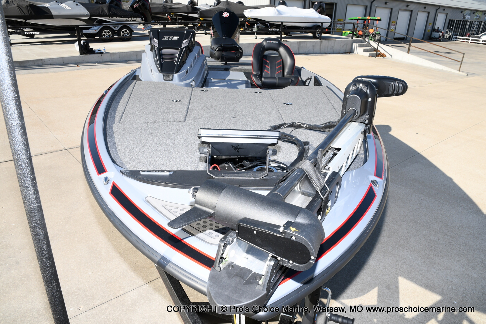 2021 Nitro boat for sale, model of the boat is Z19 pro package & Image # 31 of 50