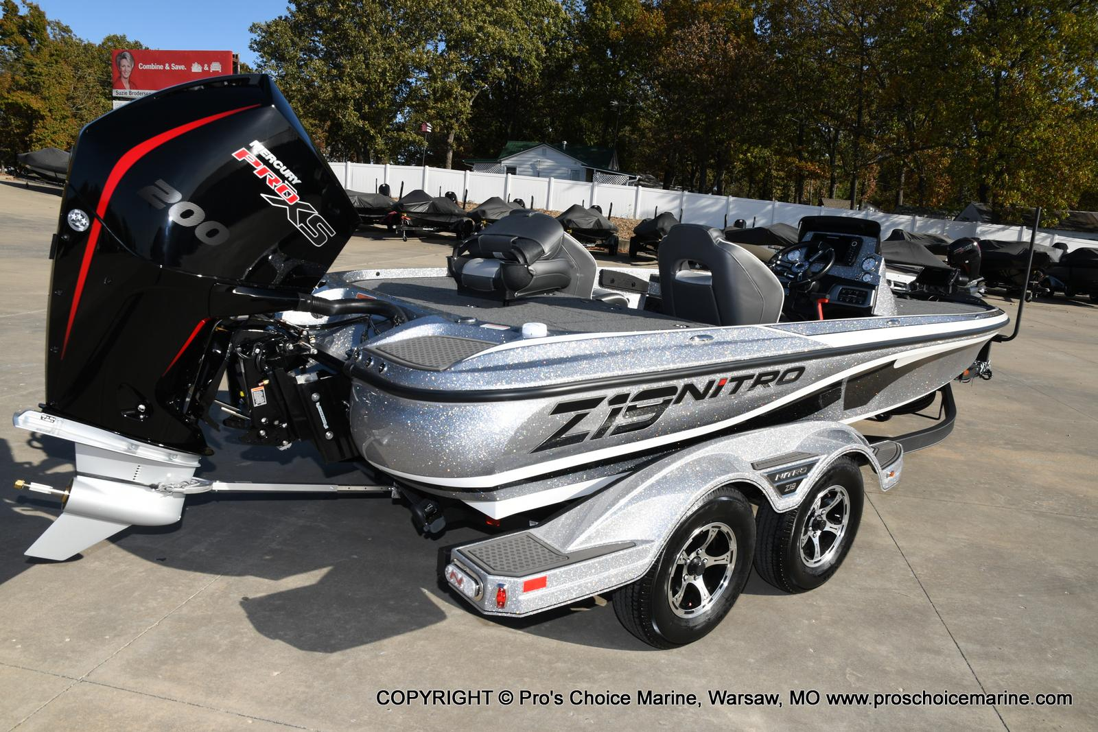 2021 Nitro boat for sale, model of the boat is Z19 pro package & Image # 4 of 50