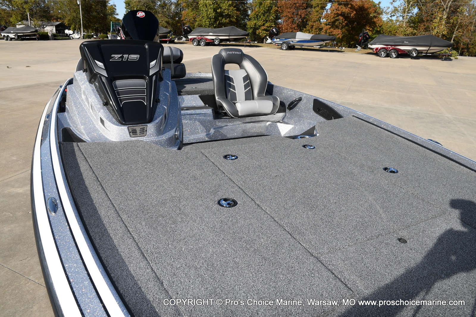 2021 Nitro boat for sale, model of the boat is Z19 pro package & Image # 21 of 50