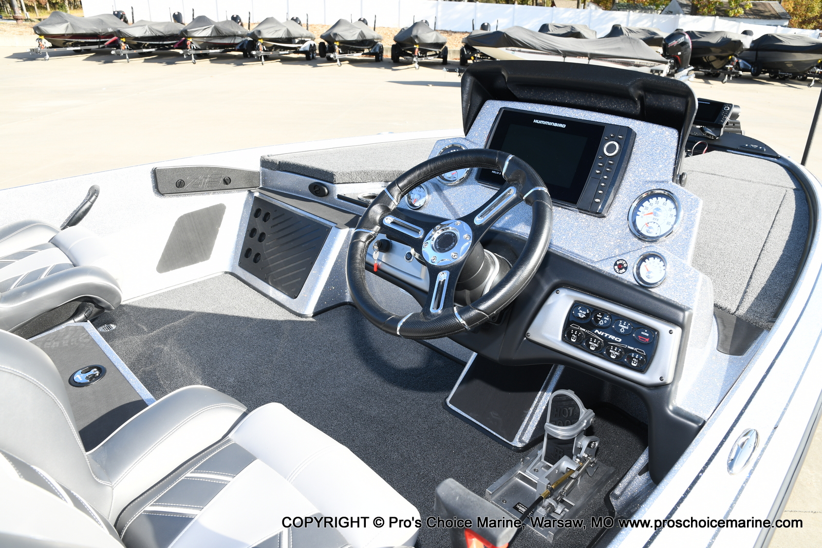 2021 Nitro boat for sale, model of the boat is Z19 pro package & Image # 22 of 50