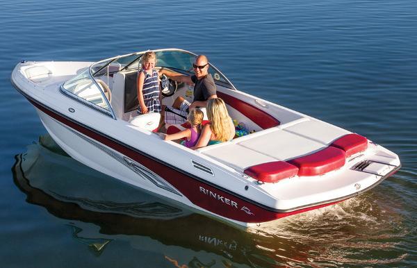2014 Rinker boat for sale, model of the boat is Captiva 186 BR & Image # 2 of 5
