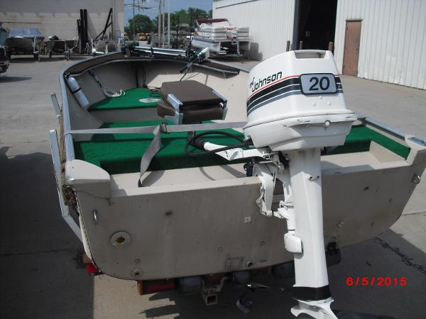 1986 Alumacraft boat for sale, model of the boat is 14' V & Image # 12 of 12