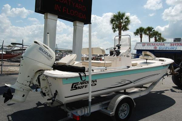 2019 Carolina Skiff boat for sale, model of the boat is 18 JVX & Image # 9 of 10