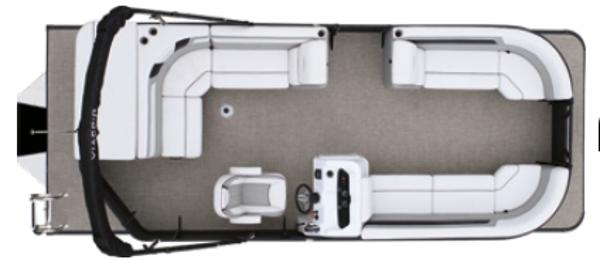 2021 Viaggio Misty Harbor Lago 22 C tritoon thumbnail