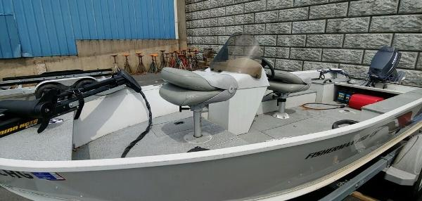 2008 Alumacraft boat for sale, model of the boat is 160 Fisherman CS & Image # 2 of 10