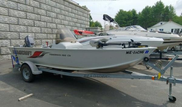 2008 Alumacraft boat for sale, model of the boat is 160 Fisherman CS & Image # 4 of 10