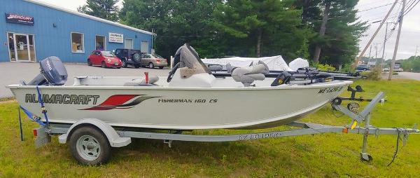 2008 Alumacraft boat for sale, model of the boat is 160 Fisherman CS & Image # 6 of 10