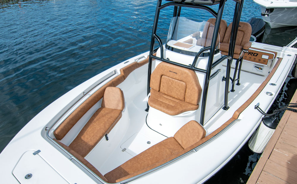 2021 Sea Pro boat for sale, model of the boat is 219 Deep-V Center Console & Image # 11 of 16
