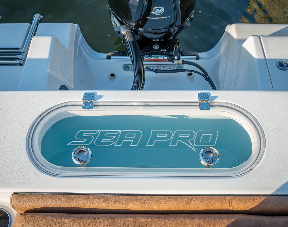 2021 Sea Pro boat for sale, model of the boat is 219 Deep-V Center Console & Image # 8 of 16