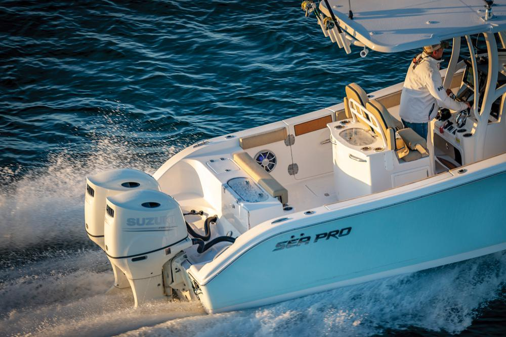 2021 Sea Pro boat for sale, model of the boat is 259 DLX Deep-V Center Console & Image # 2 of 18