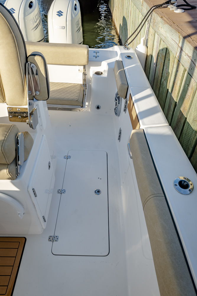 2021 Sea Pro boat for sale, model of the boat is 259 DLX Deep-V Center Console & Image # 6 of 18