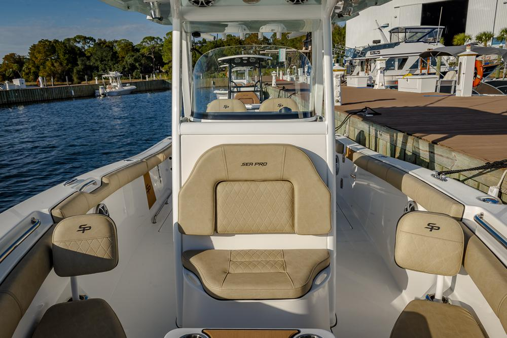 2021 Sea Pro boat for sale, model of the boat is 259 DLX Deep-V Center Console & Image # 8 of 18