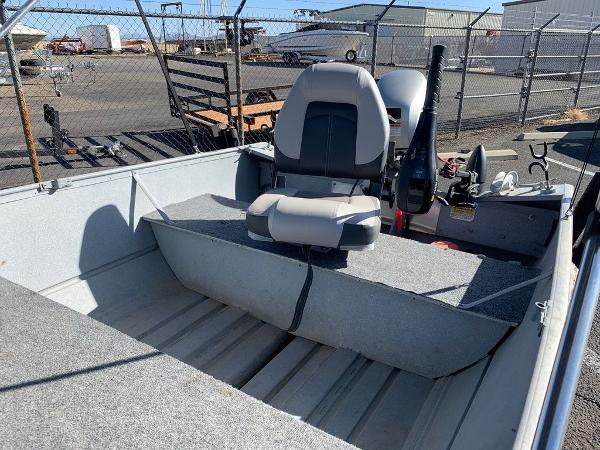 2004 Gregor boat for sale, model of the boat is 14' Deep Vee & Image # 8 of 24