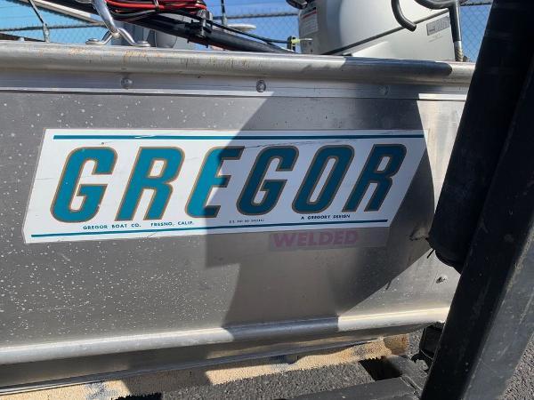 2004 Gregor boat for sale, model of the boat is 14' Deep Vee & Image # 12 of 24