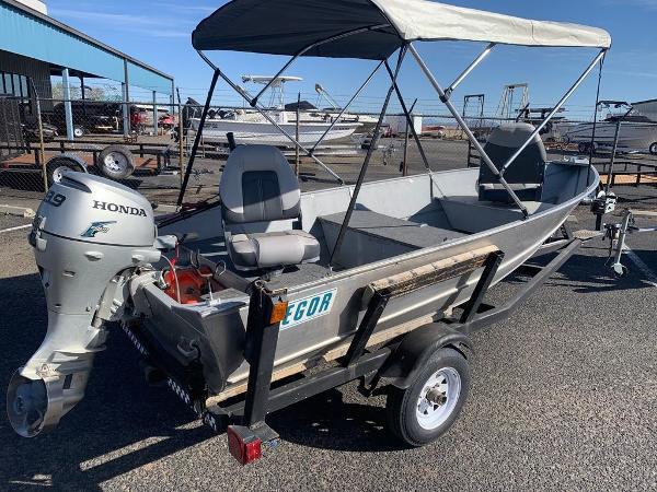 2004 Gregor boat for sale, model of the boat is 14' Deep Vee & Image # 19 of 24