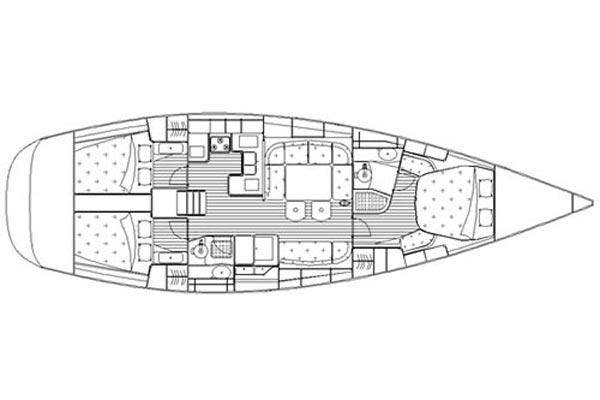 Manufacturer Provided Image: Layout 3 Cabins