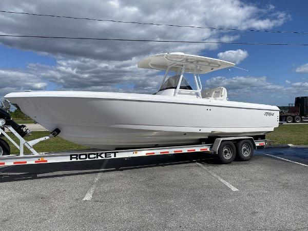2020 Intrepid boat for sale, model of the boat is 300 Center Console & Image # 1 of 14