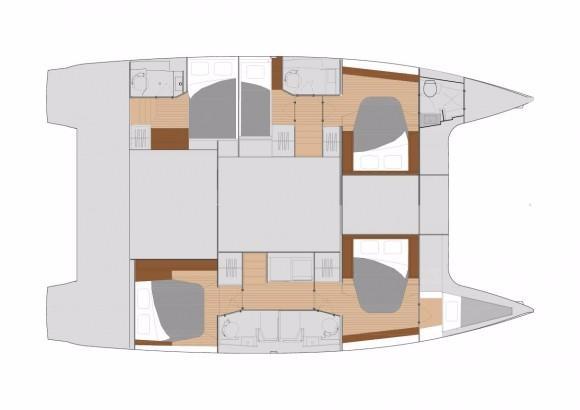5 cabin layot