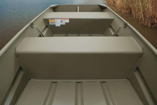 2017 Tracker Boats boat for sale, model of the boat is Topper 1036 Riveted Jon & Image # 3 of 7