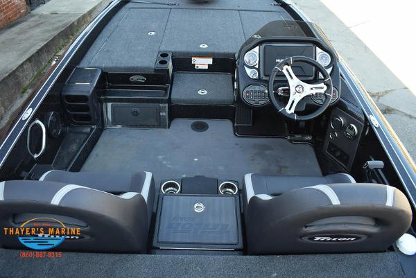 2020 Triton boat for sale, model of the boat is 21 TRX & Image # 17 of 40