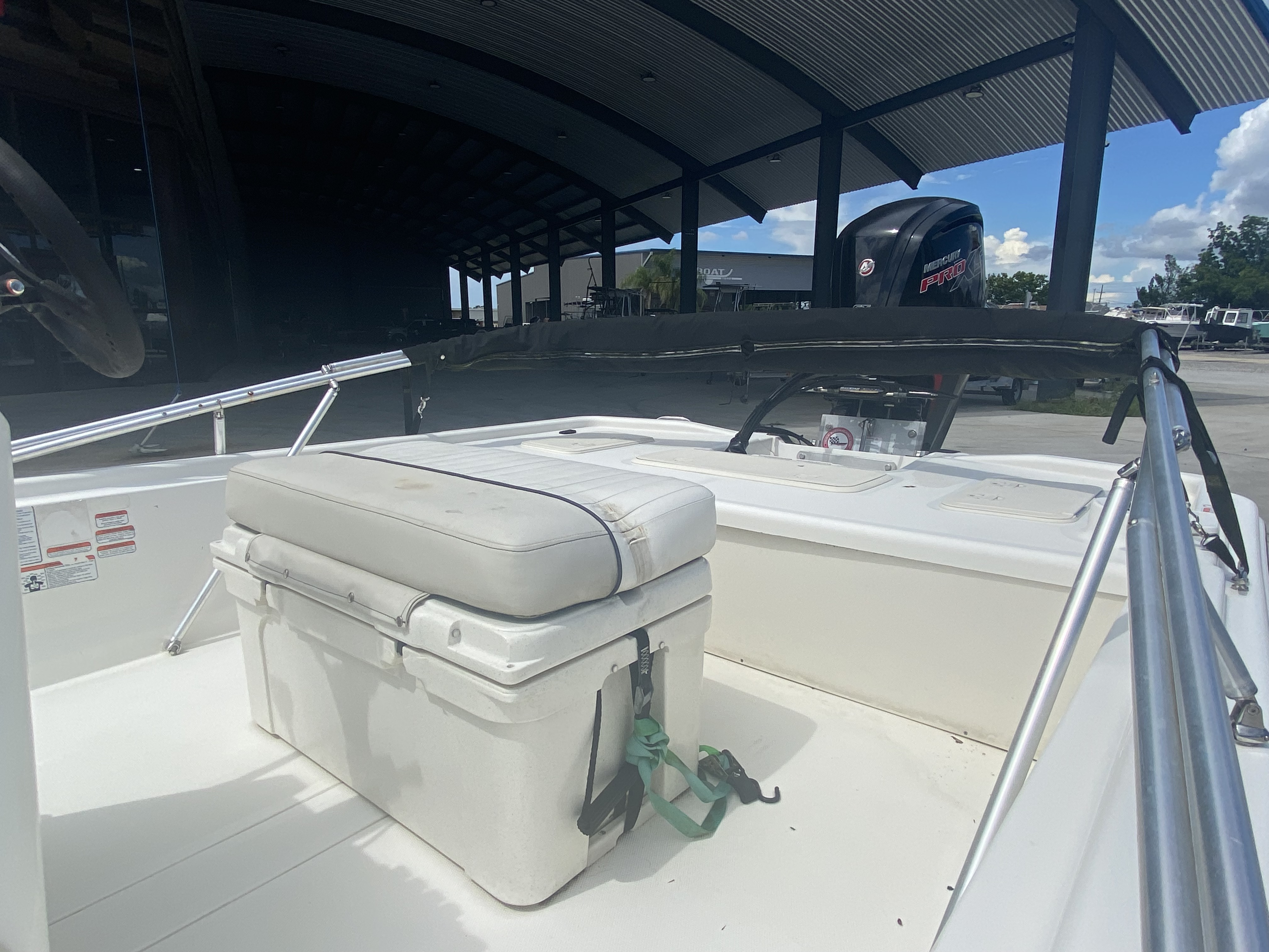 2017 Mako boat for sale, model of the boat is Pro Skiff 19 CC & Image # 13 of 13