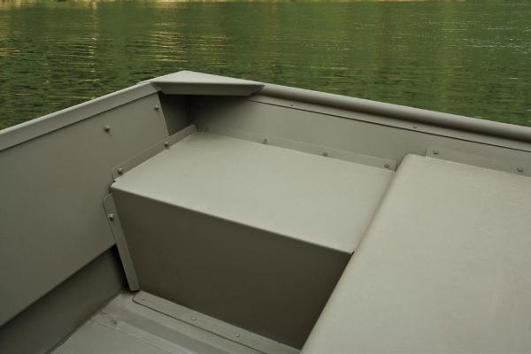 2017 Tracker Boats boat for sale, model of the boat is Topper 1542 Riveted Jon & Image # 9 of 11