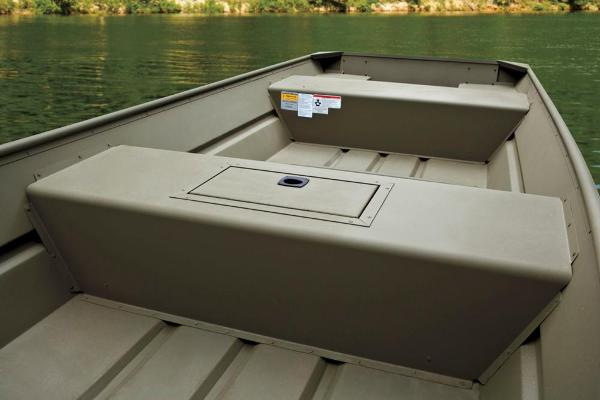 2017 Tracker Boats boat for sale, model of the boat is Topper 1542 Riveted Jon & Image # 10 of 11