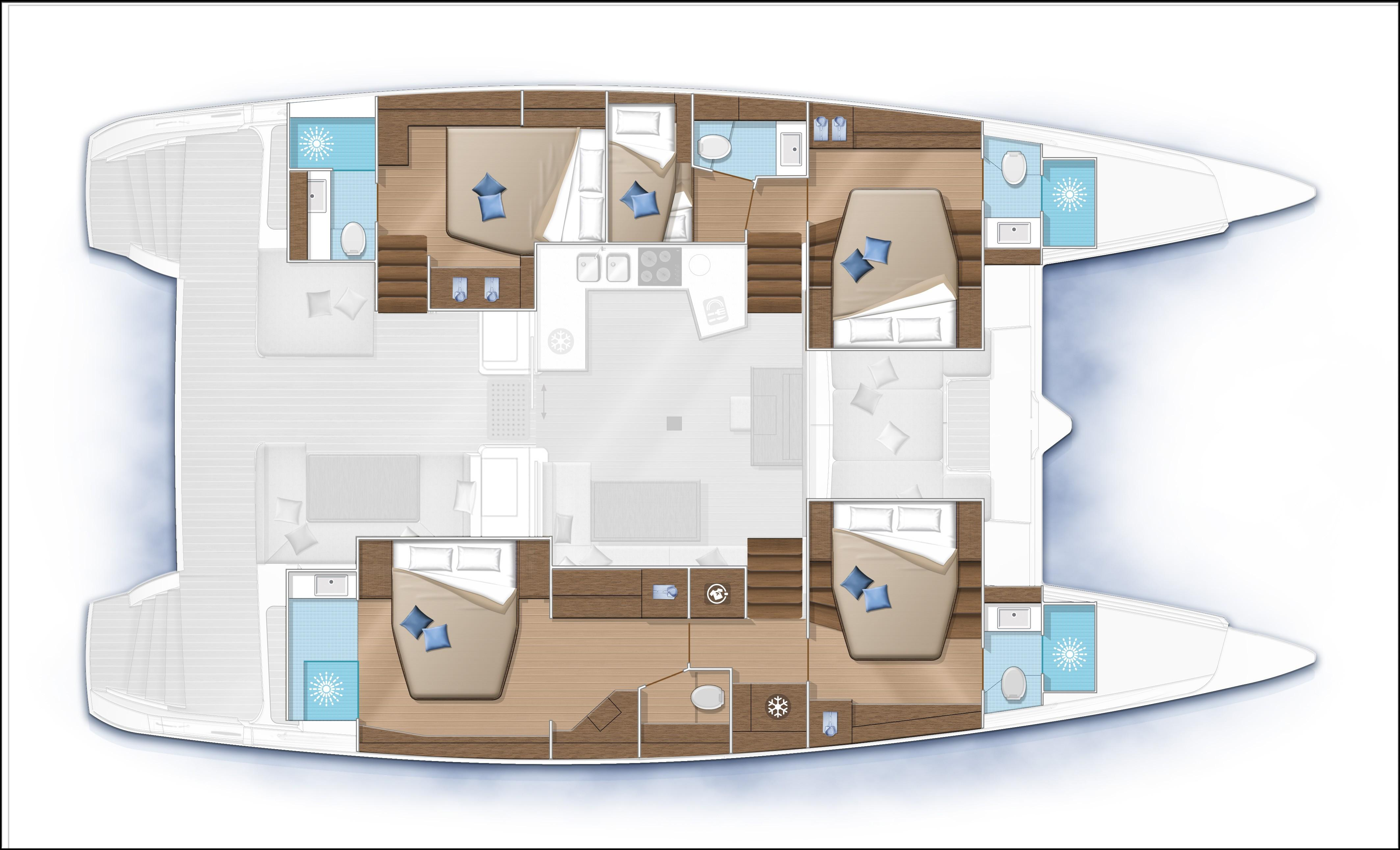 helloManufacturer Provided Image: Lagoon 52 F 5 Cabin Layout Plan