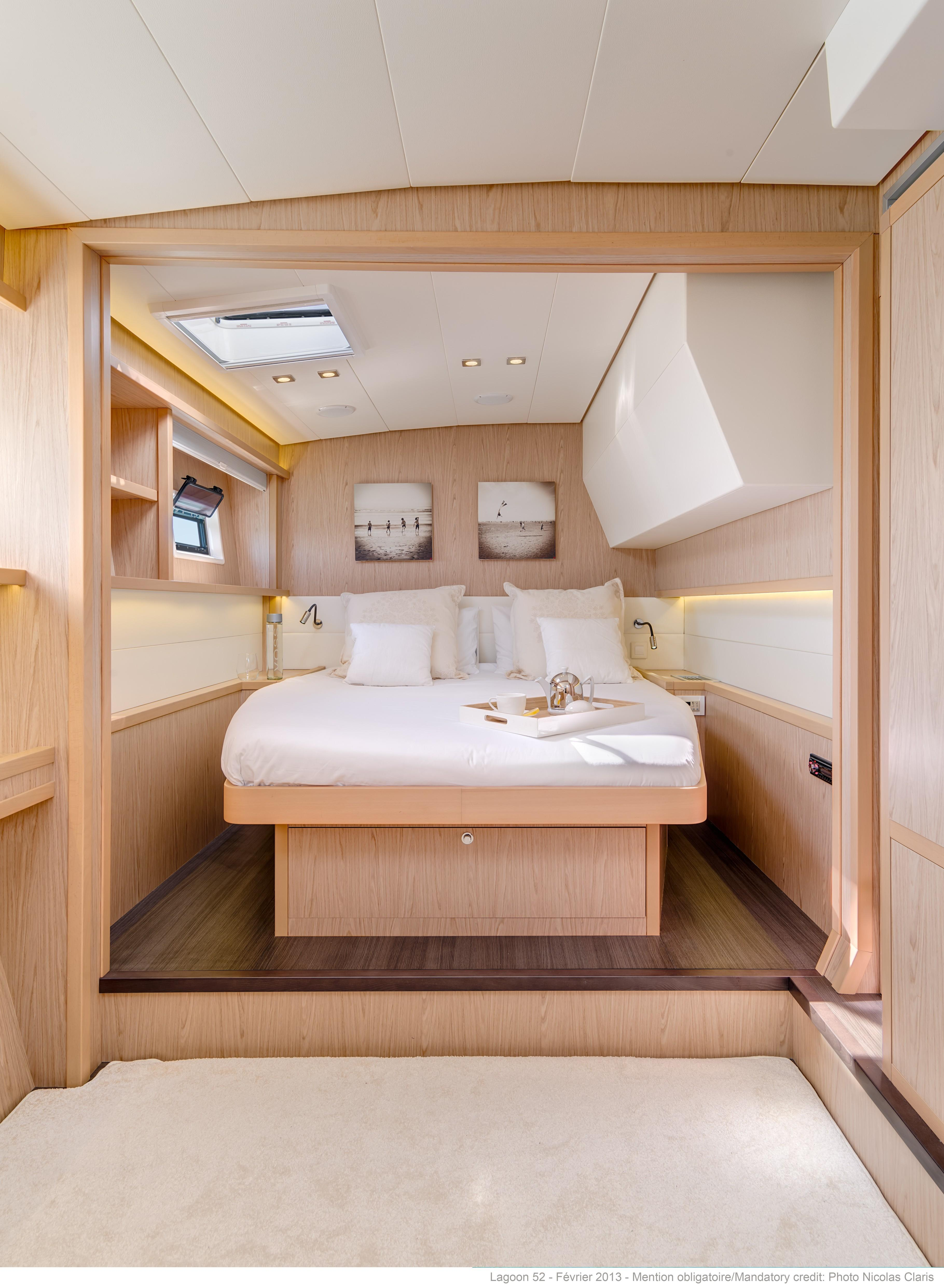 helloManufacturer Provided Image: Lagoon 52 F Cabin