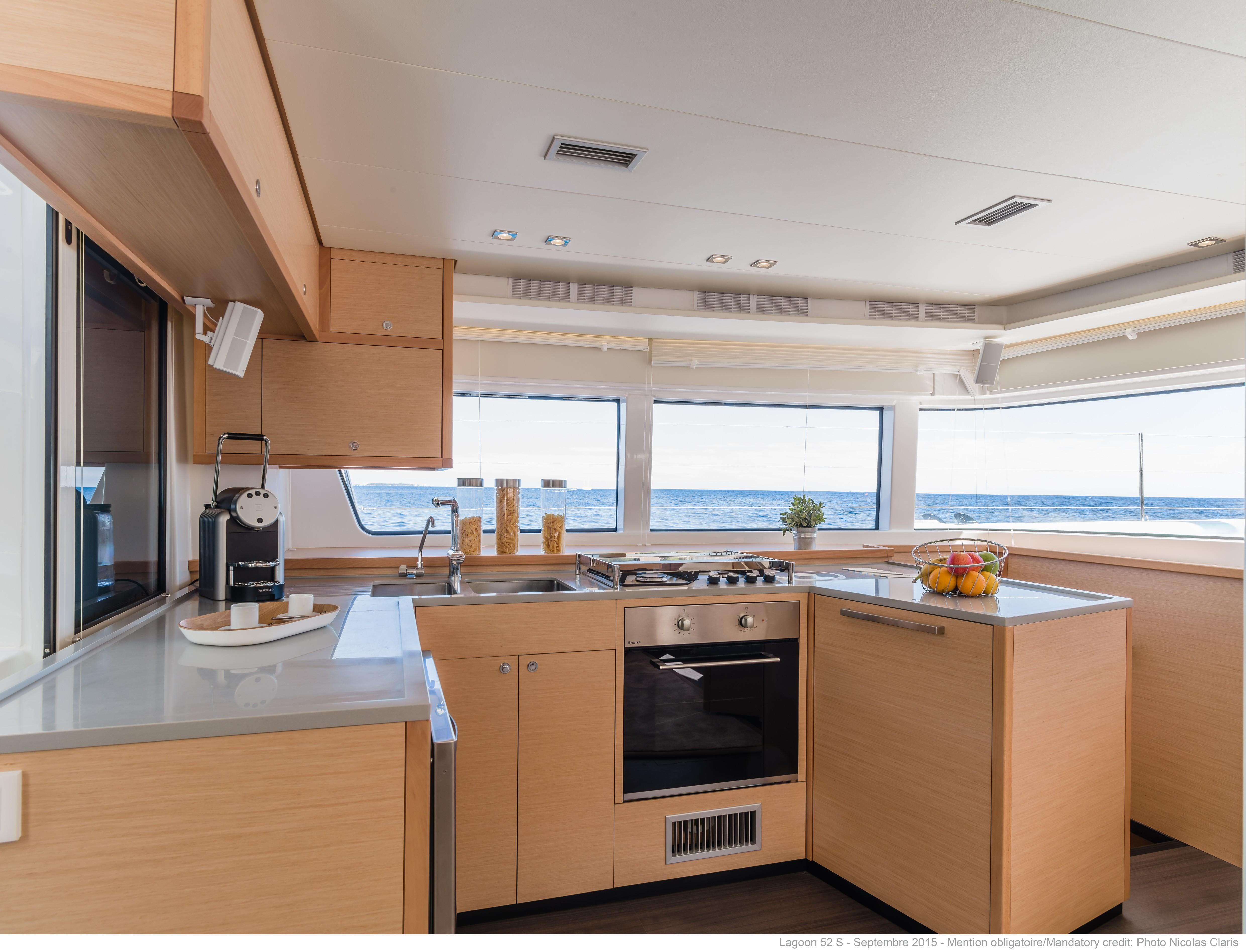 helloManufacturer Provided Image: Lagoon 52 F Galley
