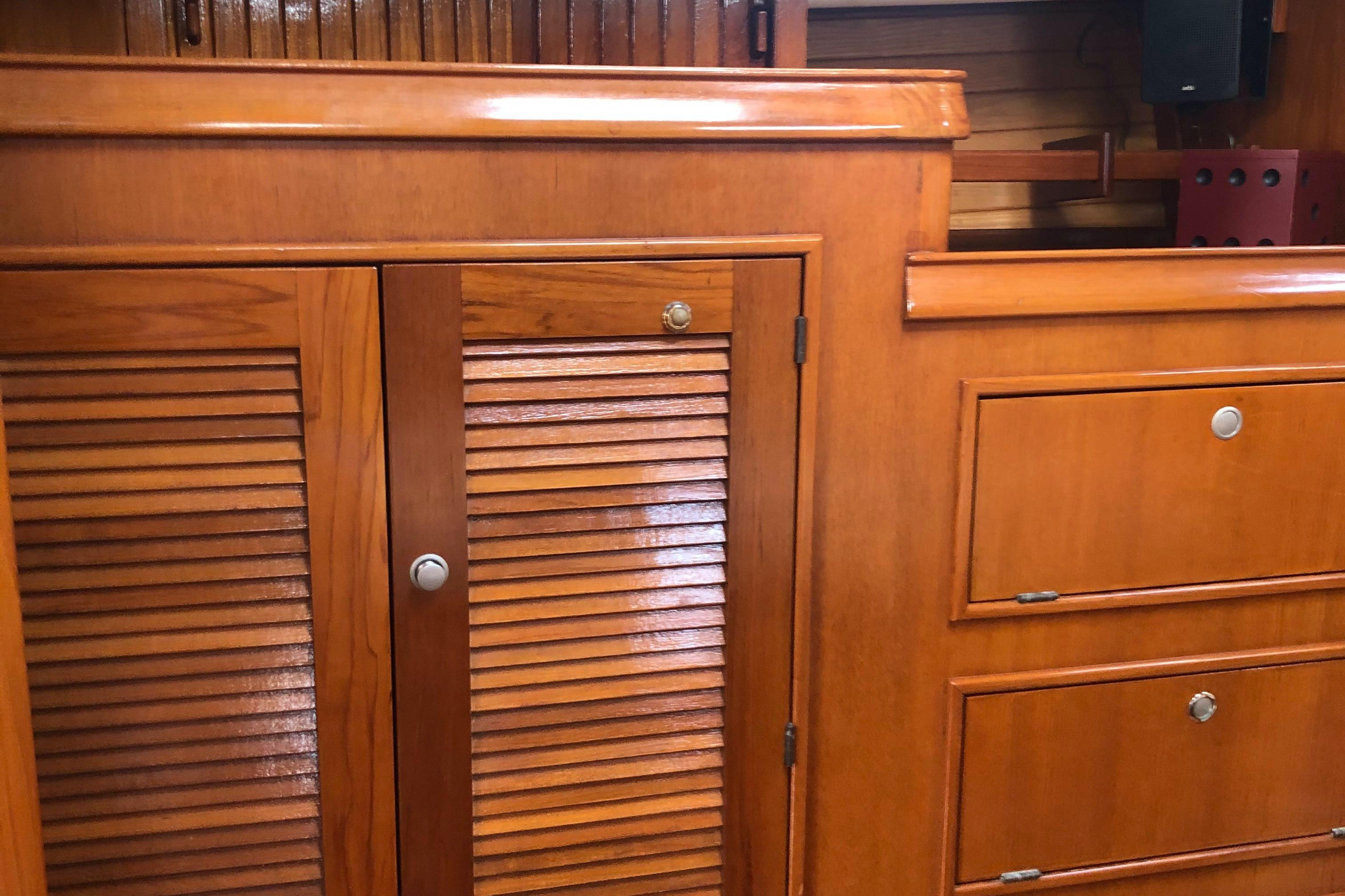 Aft Cabin Cabinetry