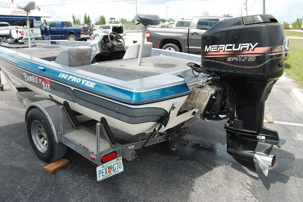 1998 Bumble Bee boat for sale, model of the boat is 180 Pro Vee & Image # 2 of 10